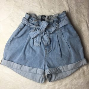 BDG Urban Outfitters Paperbag Tie Shorts